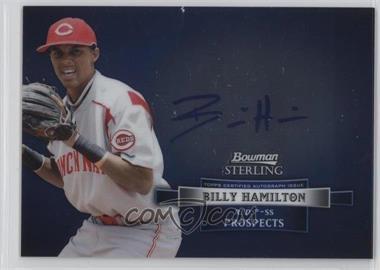 2012 Bowman Sterling - Autograph #BSAP-BH - Billy Hamilton
