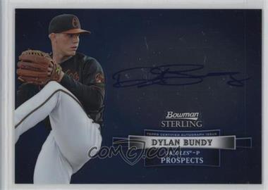 2012 Bowman Sterling - Autograph #BSAP-DB - Dylan Bundy