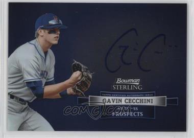 2012 Bowman Sterling - Autograph #BSAP-GC - Gavin Cecchini