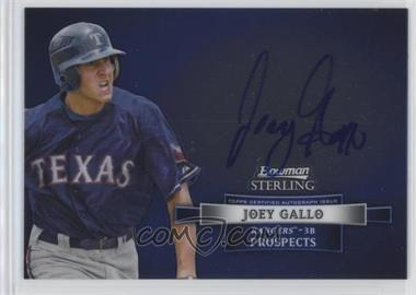 2012 Bowman Sterling - Autograph #BSAP-JGA - Joey Gallo