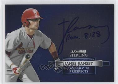 2012 Bowman Sterling - Autograph #BSAP-JR - James Ramsey