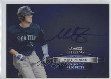 2012 Bowman Sterling - Autograph #BSAP-MZ - Mike Zunino