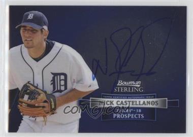 2012 Bowman Sterling - Autograph #BSAP-NC - Nick Castellanos
