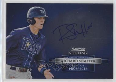 2012 Bowman Sterling - Autograph #BSAP-RS - Richard Shaffer