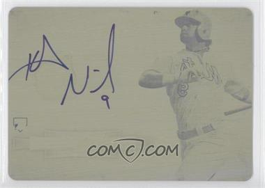 2012 Bowman Sterling - Autographed Rookie - Printing Plate Yellow #BSAR-KN - Kirk Nieuwenhuis /1