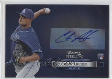 2012 Bowman Sterling - Autographed Rookie #BSAR-CA - Chris Archer