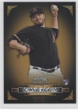 2012 Bowman Sterling - [Base] - Gold Refractor #2 - Wade Miley /50