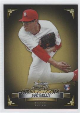 2012 Bowman Sterling - [Base] - Gold Refractor #37 - Joe Kelly /50