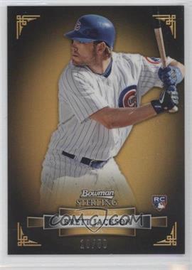 2012 Bowman Sterling - [Base] - Gold Refractor #4 - Brett Jackson /50
