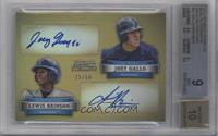 Joey Gallo, Lewis Brinson /50 [BGS 9 MINT]
