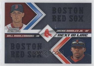 2012 Bowman Sterling - Next in Line #NIL4 - Jackie Bradley Jr., Will Middlebrooks