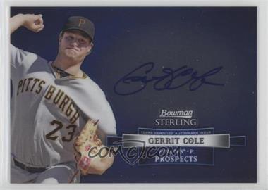 2012 Bowman Sterling - Prospect Autographs #BSAP-GCO - Gerrit Cole