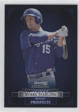 2012 Bowman Sterling - Prospects #BSP42 - Bubba Starling