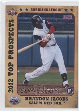 2012 Choice Carolina League Top Prospects - [Base] #11 - Brandon Jacobs