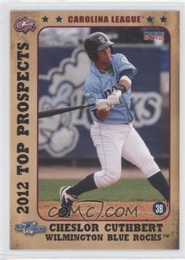 2012 Choice Carolina League Top Prospects - [Base] #12 - Cheslor Cuthbert