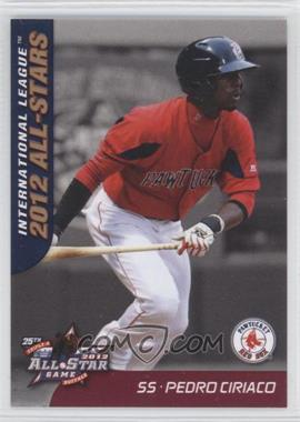 2012 Choice International League All-Stars - [Base] #17 - Pedro Ciriaco