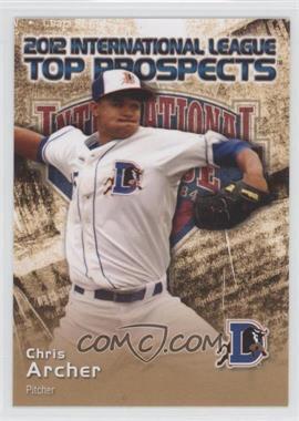 2012 Choice International League Top Prospects - [Base] #1 - Chris Archer