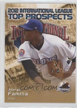 2012 Choice International League Top Prospects - [Base] #11 - Jeurys Familia
