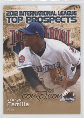 2012 Choice International League Top Prospects - [Base] #11 - Jeurys Familia