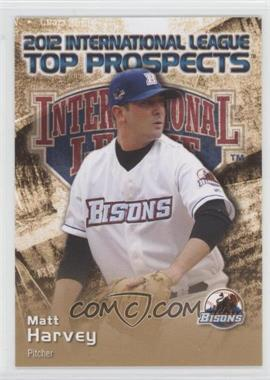 2012 Choice International League Top Prospects - [Base] #14 - Matt Harvey