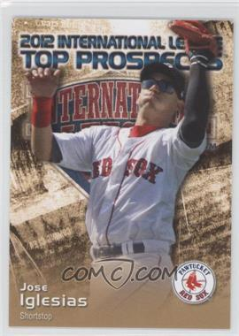 2012 Choice International League Top Prospects - [Base] #16 - Jose Iglesias