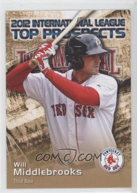 2012 Choice International League Top Prospects - [Base] #23 - Will Middlebrooks