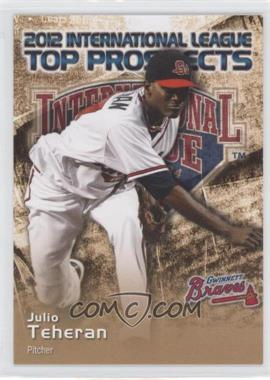 2012 Choice International League Top Prospects - [Base] #28 - Julio Teheran