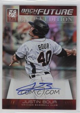2012 Elite Extra Edition - Back to the Future Signatures #13 - Justin Bour /499