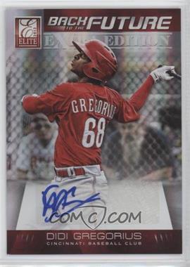 2012 Elite Extra Edition - Back to the Future Signatures #20 - Didi Gregorius /621