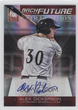 2012 Elite Extra Edition - Back to the Future Signatures #3 - Alex Dickerson /94