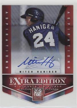 2012 Elite Extra Edition - [Base] - Aspirations Die-Cut Signatures [Autographed] #125 - Mitch Haniger /100