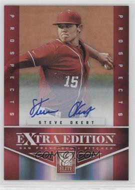 2012 Elite Extra Edition - [Base] - Aspirations Die-Cut Signatures [Autographed] #172 - Steve Okert /100