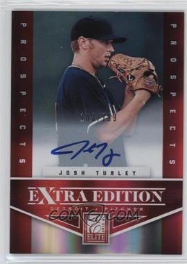 2012 Elite Extra Edition - [Base] - Aspirations Die-Cut Signatures [Autographed] #184 - Josh Turley /100