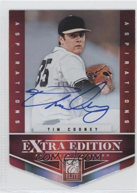 2012 Elite Extra Edition - [Base] - Aspirations Die-Cut Signatures [Autographed] #195 - Tim Cooney /100