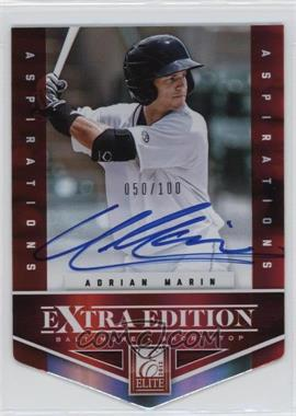 2012 Elite Extra Edition - [Base] - Aspirations Die-Cut Signatures [Autographed] #200 - Adrian Marin /100