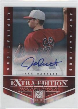 2012 Elite Extra Edition - [Base] - Aspirations Die-Cut Signatures [Autographed] #40 - Jake Barrett /100