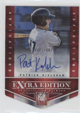 2012 Elite Extra Edition - [Base] - Aspirations Die-Cut Signatures [Autographed] #46 - Patrick Kivlehan /100