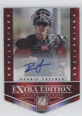 2012 Elite Extra Edition - [Base] - Aspirations Die-Cut Signatures [Autographed] #62 - Ronnie Freeman /100