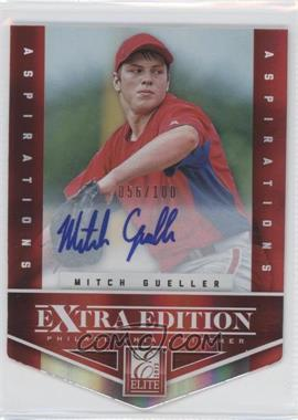 2012 Elite Extra Edition - [Base] - Aspirations Die-Cut Signatures [Autographed] #8 - Mitch Gueller /100