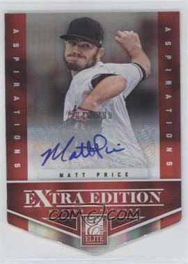2012 Elite Extra Edition - [Base] - Aspirations Die-Cut Signatures [Autographed] #81 - Matt Price /100