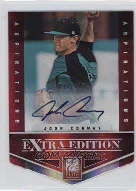 2012 Elite Extra Edition - [Base] - Aspirations Die-Cut Signatures [Autographed] #99 - Josh Conway /100