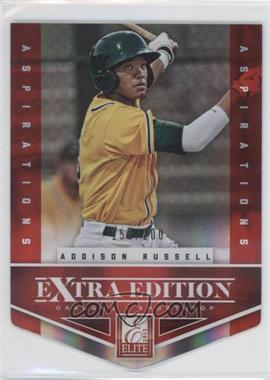 2012 Elite Extra Edition - [Base] - Aspirations Die-Cut #1 - Addison Russell /200