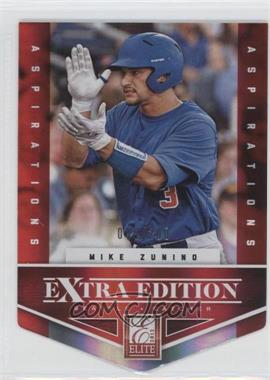 2012 Elite Extra Edition - [Base] - Aspirations Die-Cut #103 - Mike Zunino /200