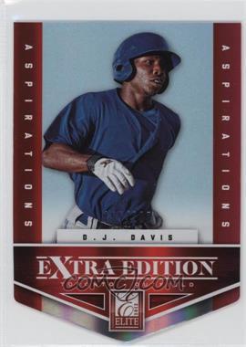 2012 Elite Extra Edition - [Base] - Aspirations Die-Cut #112 - D.J. Davis /200