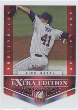 2012 Elite Extra Edition - [Base] - Aspirations Die-Cut #135 - Nick Goody /200
