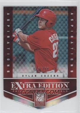 2012 Elite Extra Edition - [Base] - Aspirations Die-Cut #26 - Dylan Cozens /200