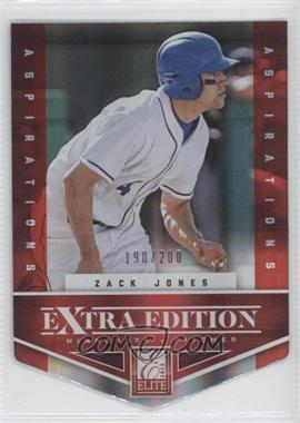 2012 Elite Extra Edition - [Base] - Aspirations Die-Cut #45 - Zack Jones /200