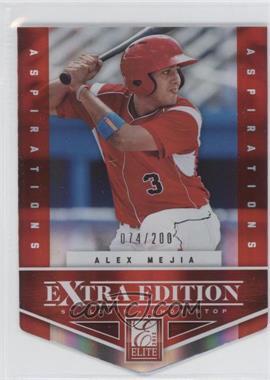 2012 Elite Extra Edition - [Base] - Aspirations Die-Cut #48 - Alex Mejia /200