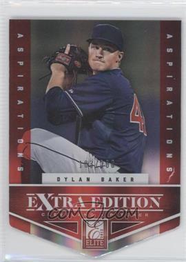 2012 Elite Extra Edition - [Base] - Aspirations Die-Cut #58 - Dylan Baker /200