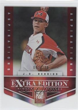 2012 Elite Extra Edition - [Base] - Aspirations Die-Cut #88 - J.O. Berrios /200